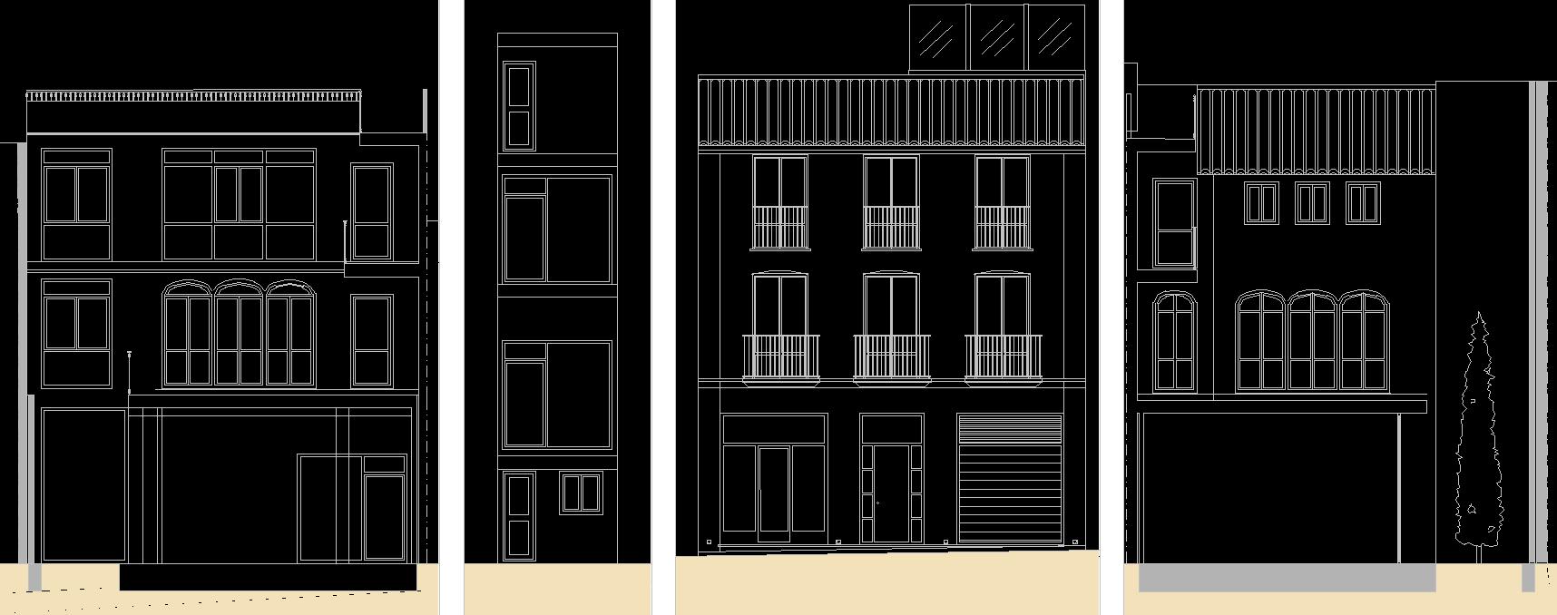 Vivienda unifamiliar entre medianeras proyecto de vivienda unifamiliar entre medianeras con - Casa soto baiona ...
